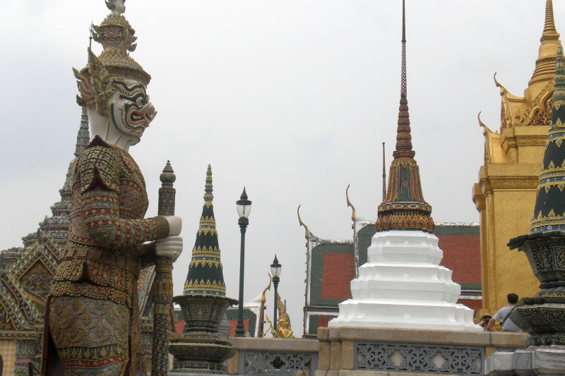 Bangkok mit Kindern Wat Po2