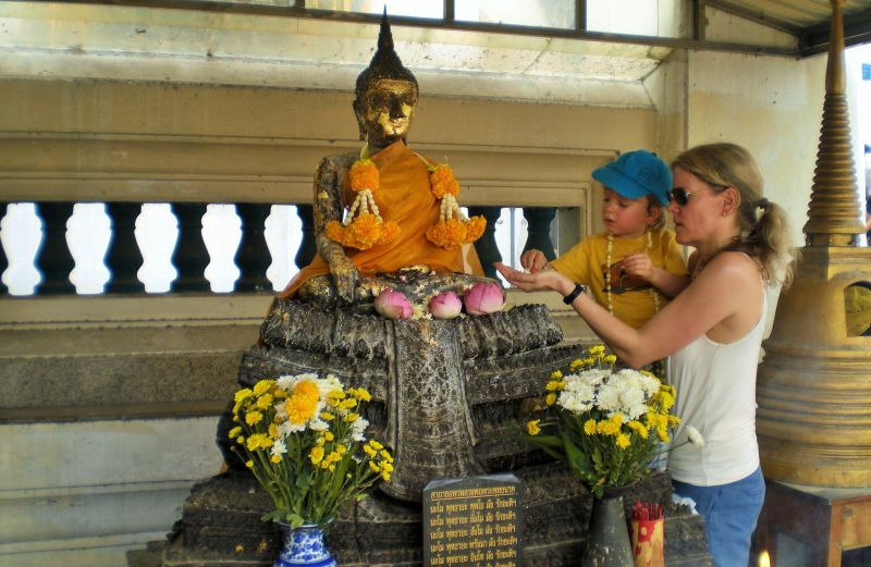 Bangkok mit Kindern Wat Po_