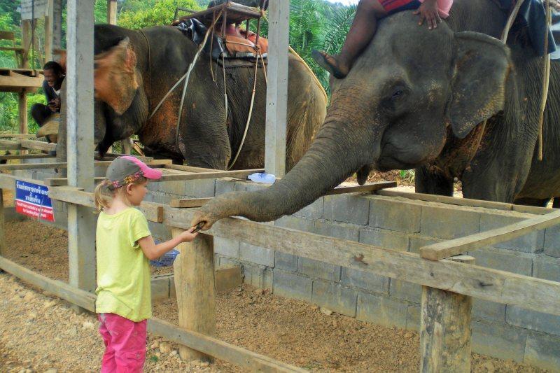Khao Sok mit Kindern