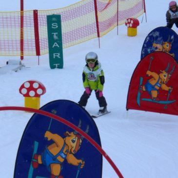 Skifahren mit Kindern im Pitztal