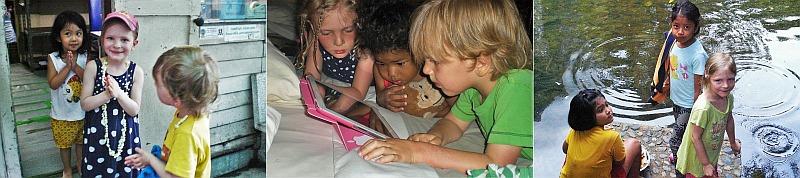 Fernreisen mit kleinen Kindern