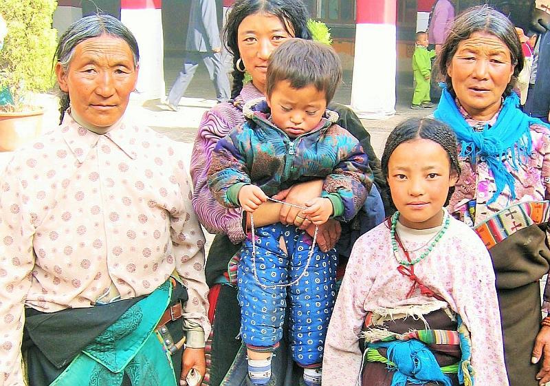 Fernreisen mit kleinen Kindern _ Tibet