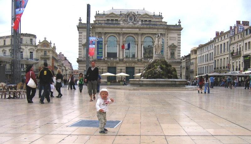 Städtereisen mit Kindern Montpellier