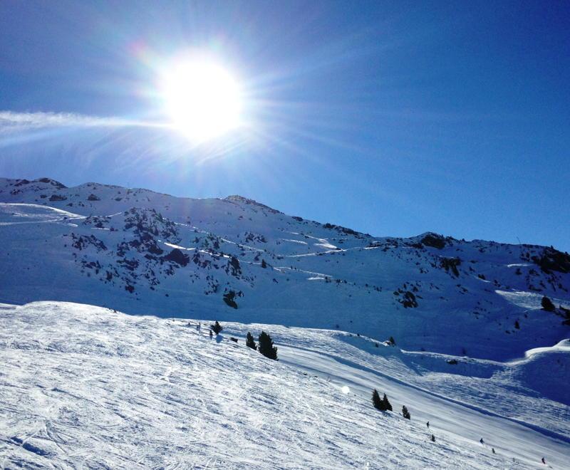 Skifahren in den Schulferien