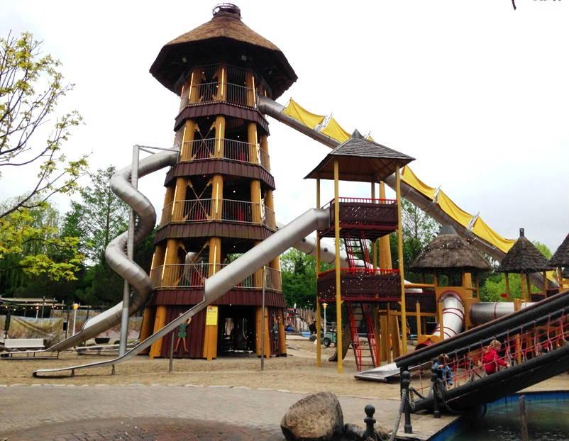 Europapark mit kleinen Kindern