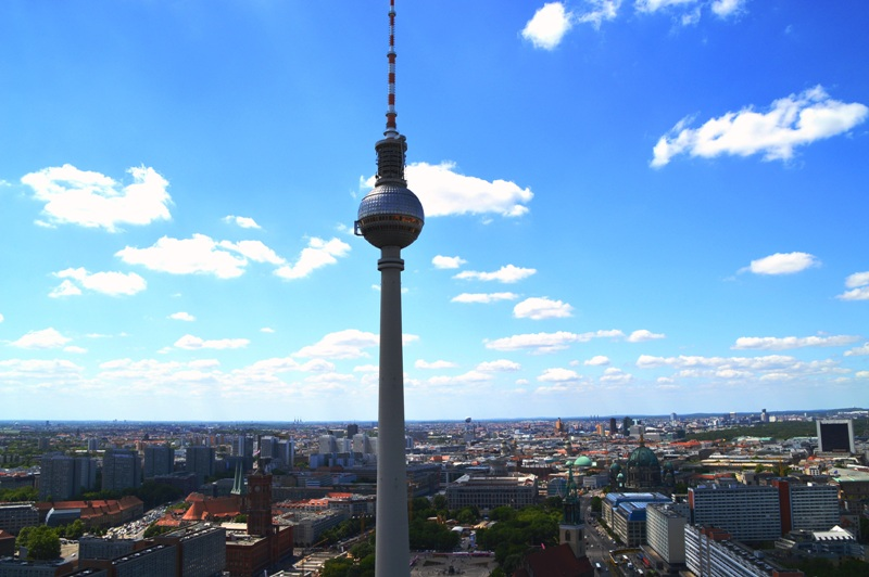 Kurzurlaub mit Kindern: Berlin Fernsehturm