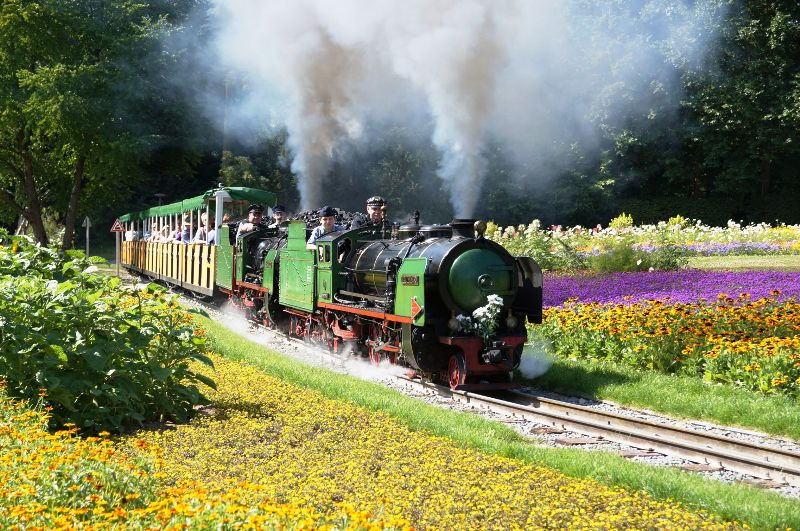 Ausflüge mit Kindern rund um Stuttgart: Killesbergbahn