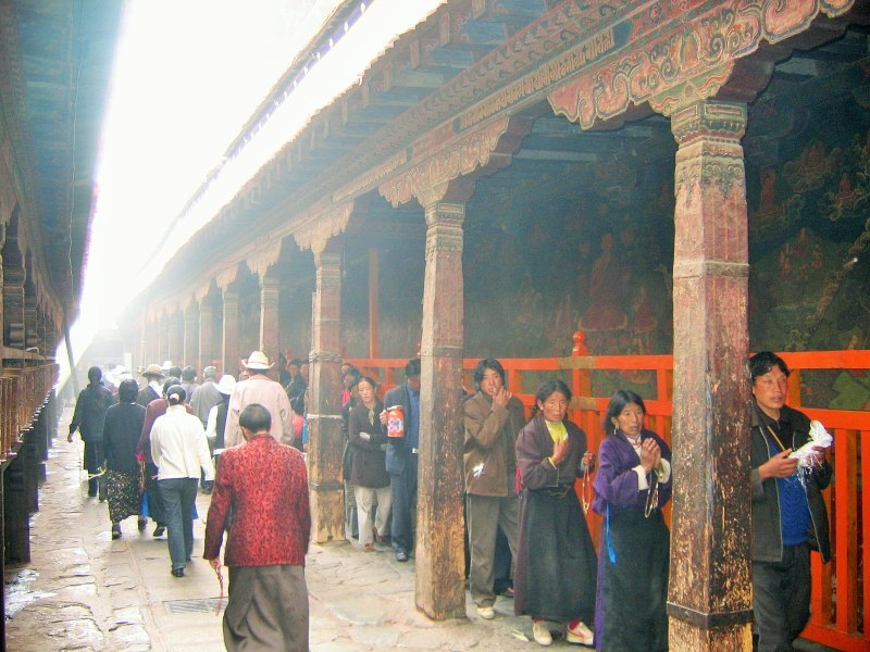 Reise nach Tibet Jokhang Kloster