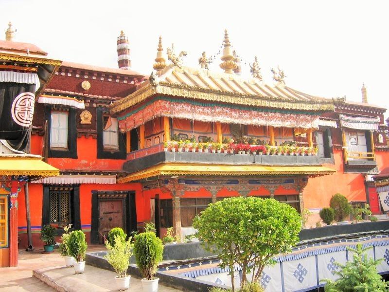 Reise nach Tibet Jokhang_Kloster_