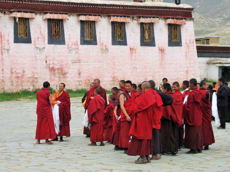 Reise nach Tibet Kloster Sera