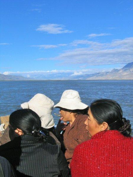 Reise nach Tibet Yamdrok See