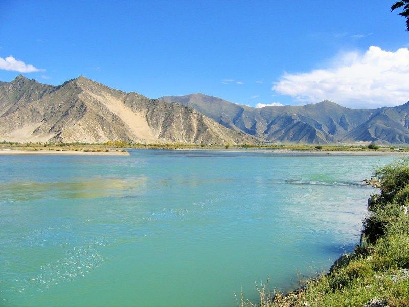 Yamdrok See Tibet