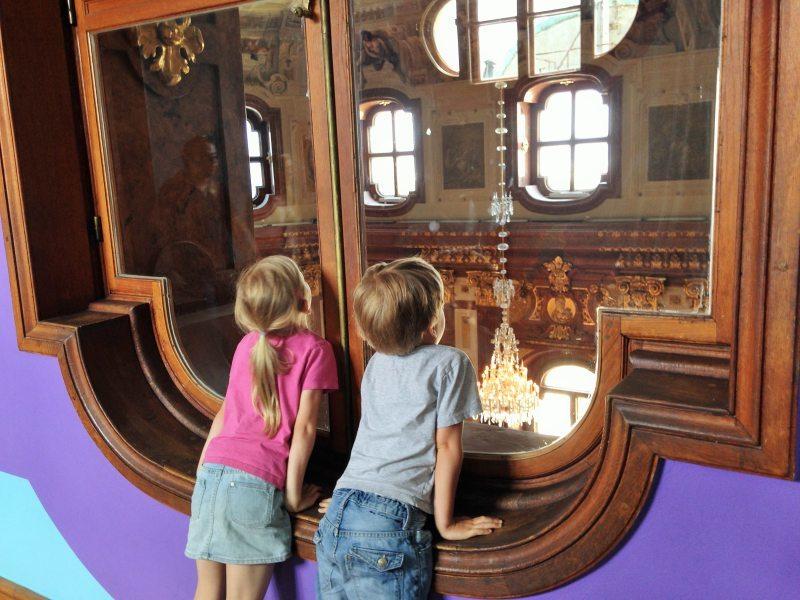 Wien mit Kindern Belvedere