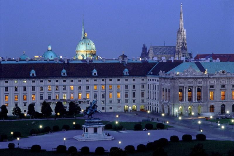 Wien mit Kindern Hofburg