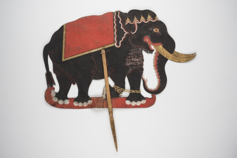 Elefant Gajah, Indonesien, 19.-20. Jh., Slg. Thomann, Copyright Linden-Museum Stuttgart, Foto A.