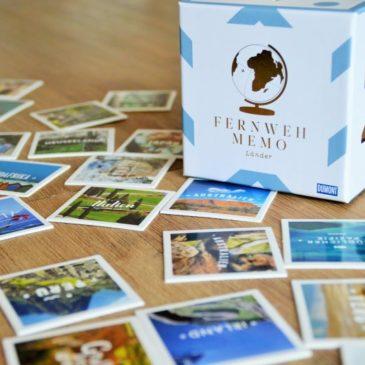 Fernweh Memo: Zum Spielen und Schmachten