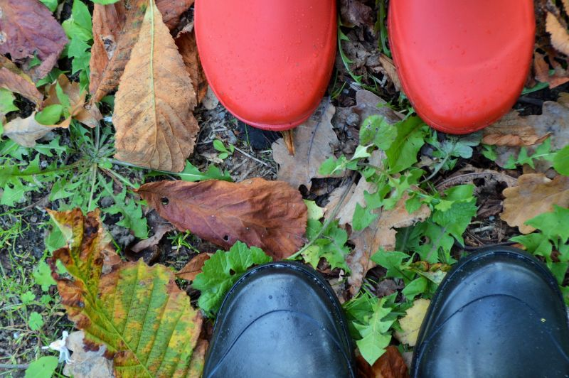 Herbst Gummistiefel