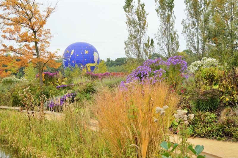 Herbst Park des kleinen Prinzen
