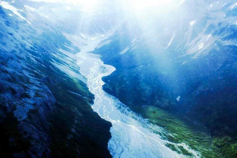 Traumreiseziele: Verflochtenes Flusstal in Alaska