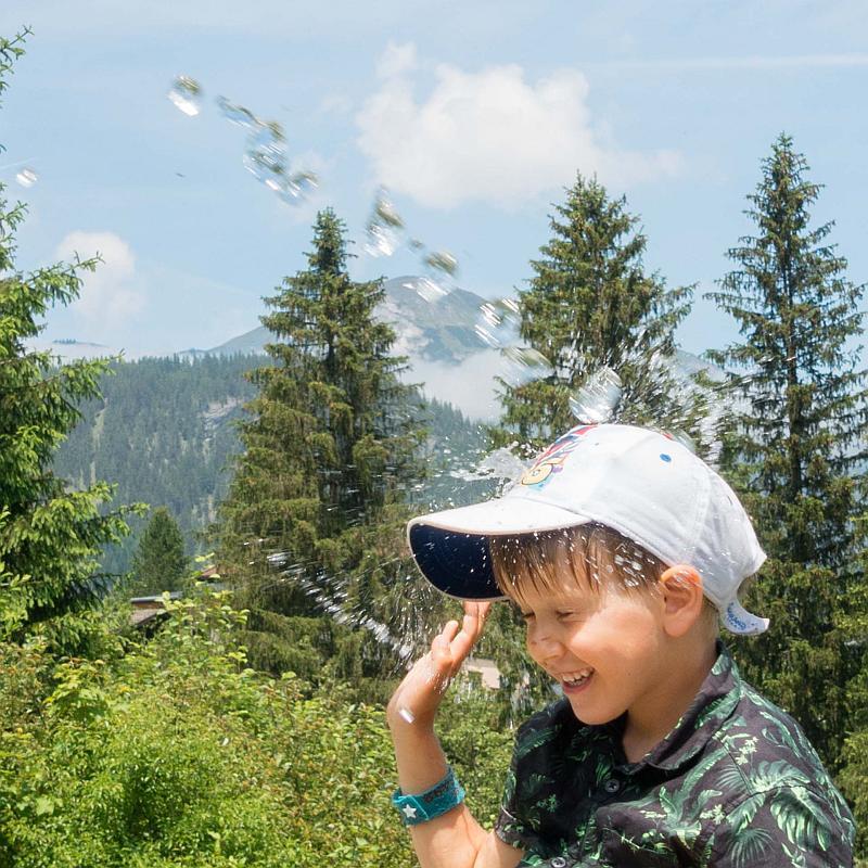 Fotos von Kindern auf Reisen