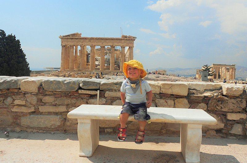 Städtereisen mit Kindern Athen