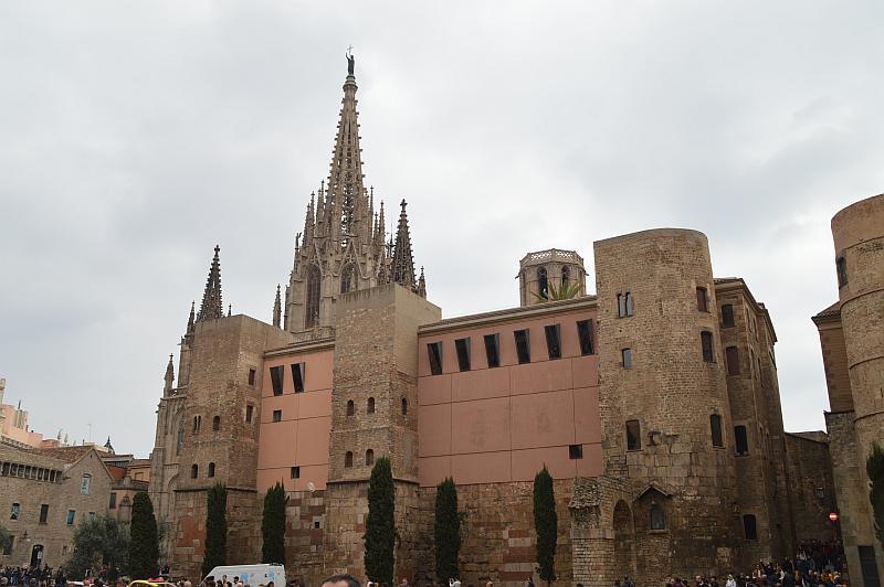 Barcelona mit Kindern: Kathedrale la Seu