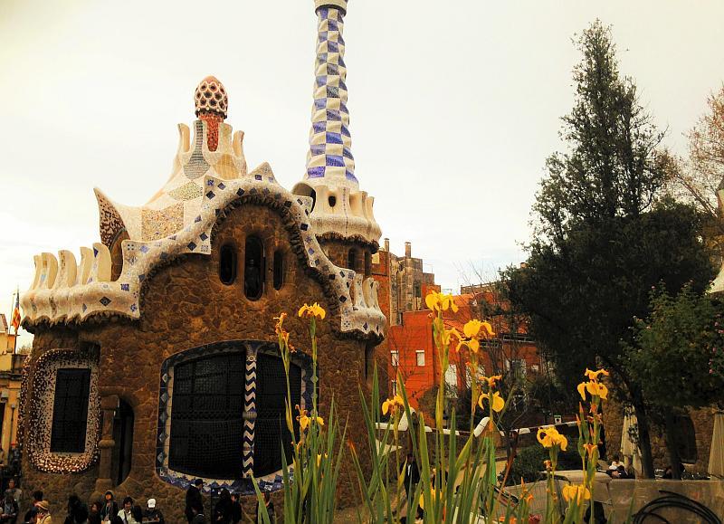 Barcelona mit Kindern: Parque Guell