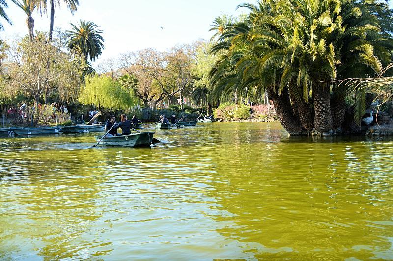 Barcelona mit Kindern: Parque de la Ciutadella