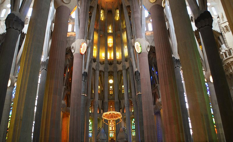 Barcelona mit Kindern: Sagrada Familia