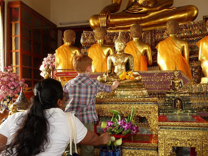 Städtereisen mit Kindern Bangkok