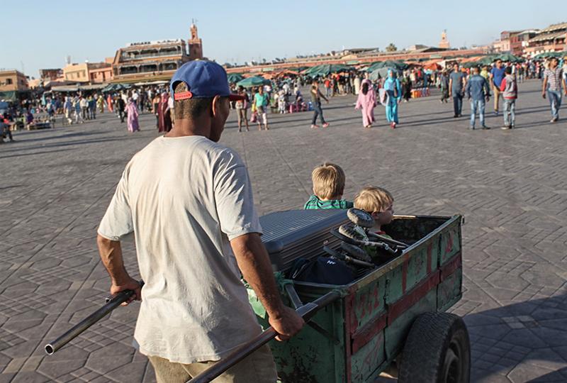Städtereisen mit Kindern Marrakesch