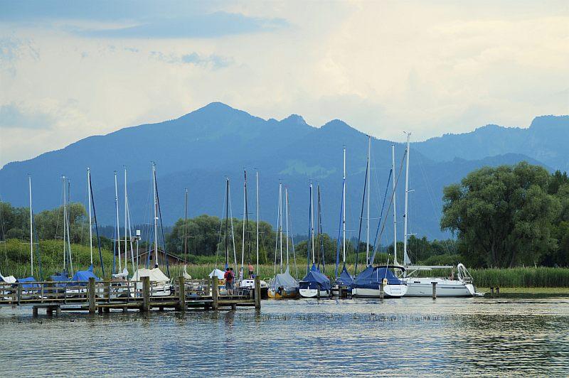 Schöne Seen: Chiemsee Boote