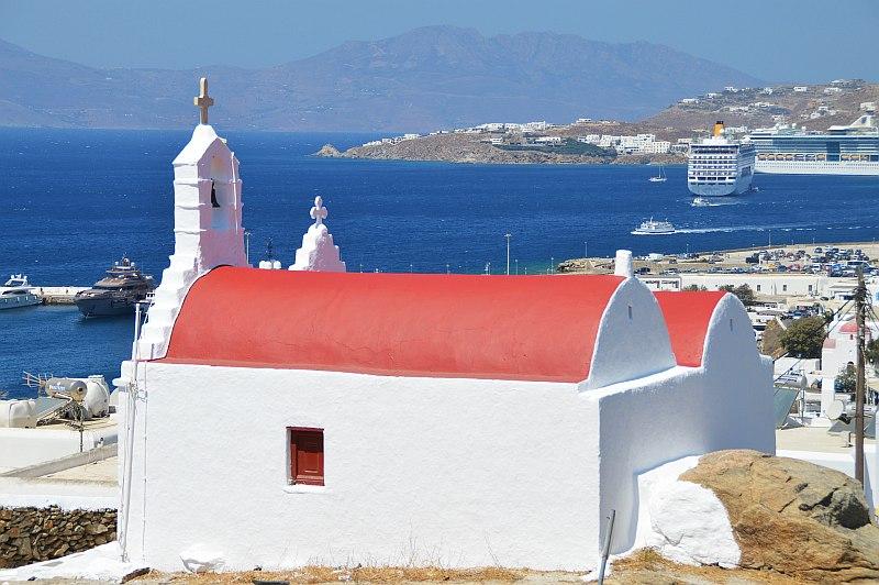 Griechenland mit Kindern Mykonos