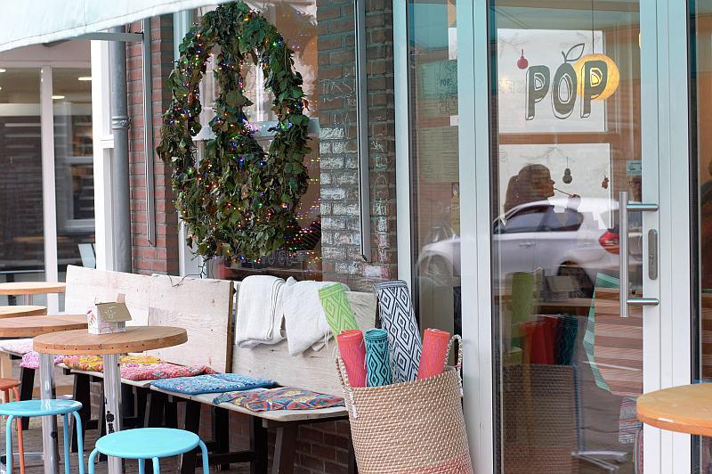 Zeeland mit Kindern Domburg Popcafe