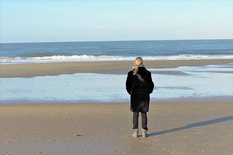 Zeeland im Winter mit Kindern Domburg Strand
