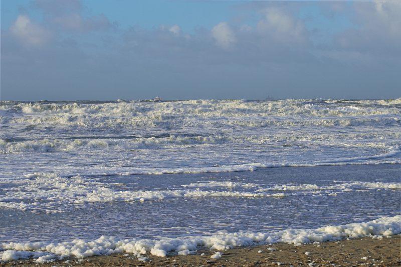 Zeeland im Winter mit Kindern: Domburg Strand