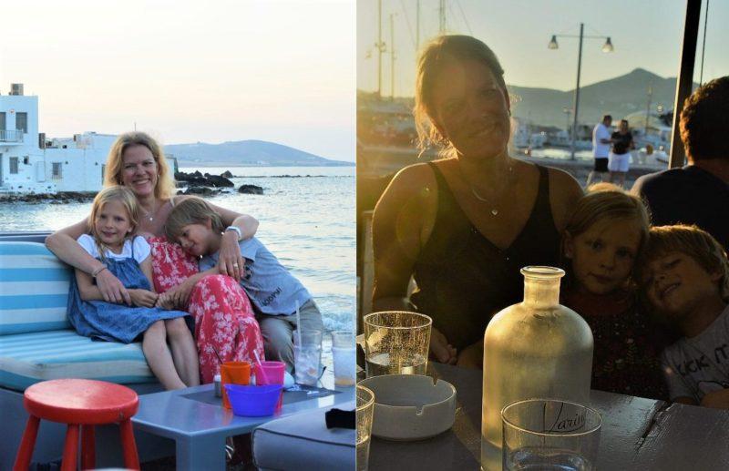 Paros mit Kindern Naoussa