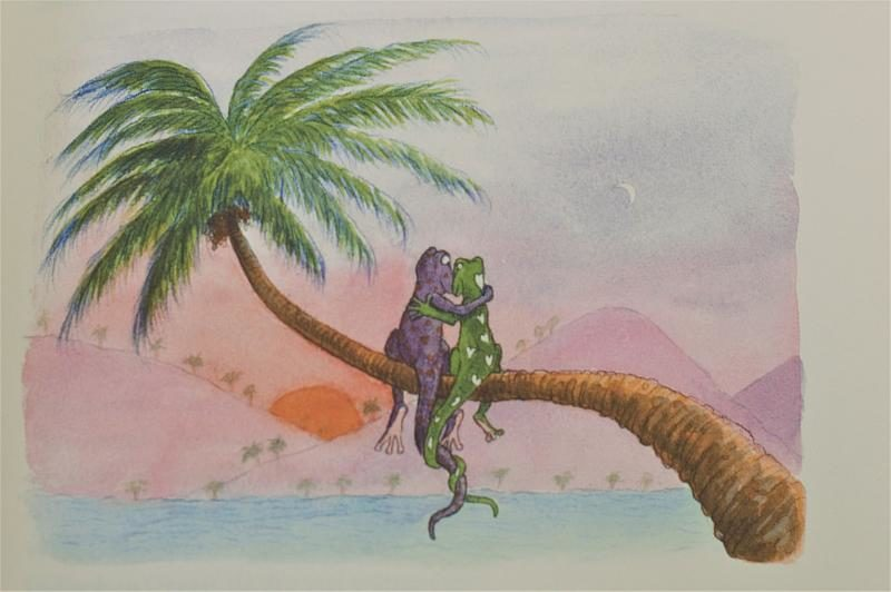 Lucky, ein Gecko auf Reisen