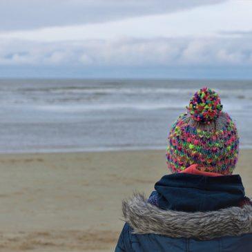 Ganz große Wintermeerliebe. Oder: Entschleunigen in Nordholland mit Kindern